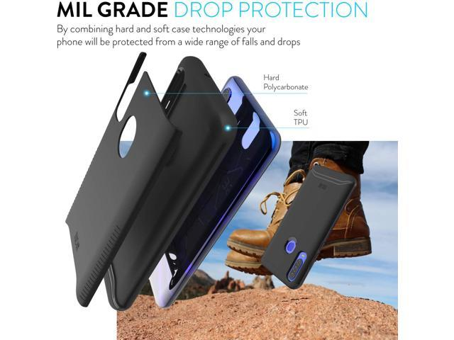 Blu G9 Pro Case Tudia Merge Extreme Protection Rugged But Premium Dual Layer Slim Fit Precise Cutouts Phone Case For Blu G9 Pro Matte Black Newegg Com