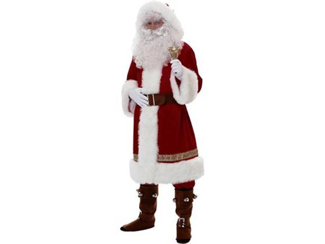 Adult Old Time Deluxe Santa Suit Rubies 2356