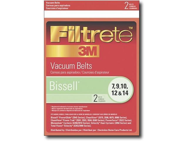 32074 Bissell Vacuum Cleaner Replacement Belt (2 Pack) by 3M - Newegg com