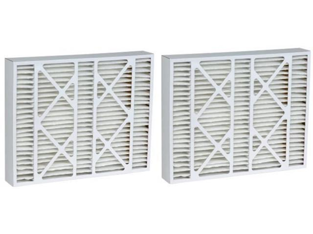 MERV 11 Aftermarket Bryant Replacement Filter 20x25x5 20.25x25.38x5.25 2 Pack