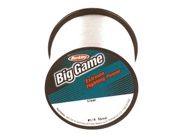 Berkley BGQS15C-15 Trilene Big Game Clear Fishing Monofilament Line 15lb x  900yd - Newegg ca