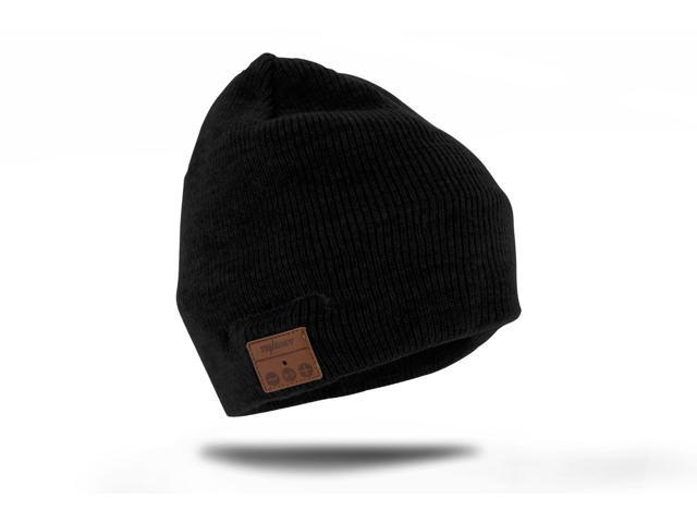 8c95ae0d7 Tenergy Basic Knit Wireless Hands-Free Bluetooth Beanie with Built-in  Speakers - Black - Newegg.com