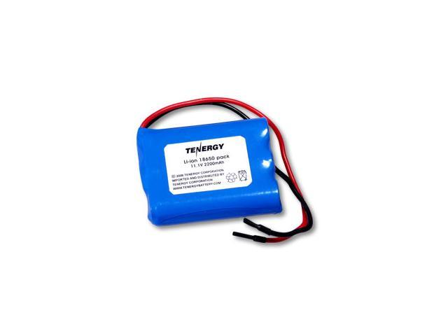 Tenergy Li-Ion 18650 10.8V 2200mAh Rechargeable Battery Pack w/ PCB Protection