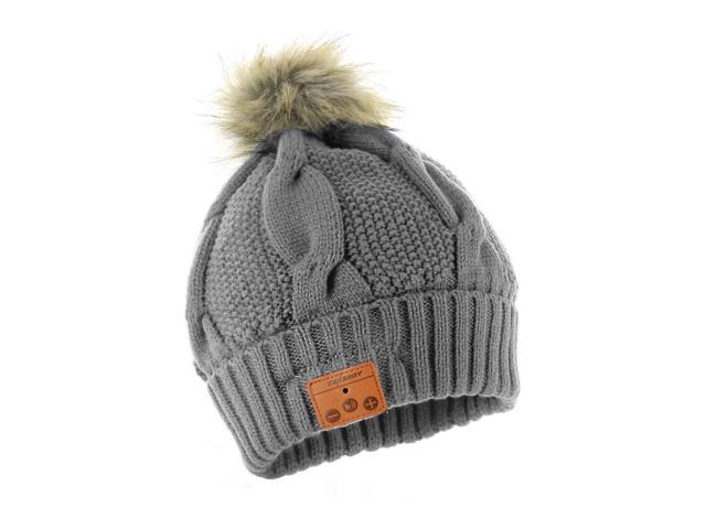 dff177b2859 Tenergy Bluetooth Beanie with Pom-Pom