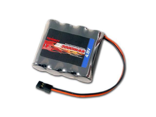 tenergy 4 8v 2000mah nimh receiver rx battery with hitec connectors rh newegg com