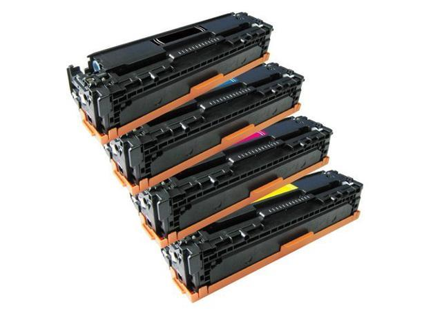 For HP 125A Color LaserJet Toner Cartridge Set CP1215 CP1515n CM1312nfi CB540A