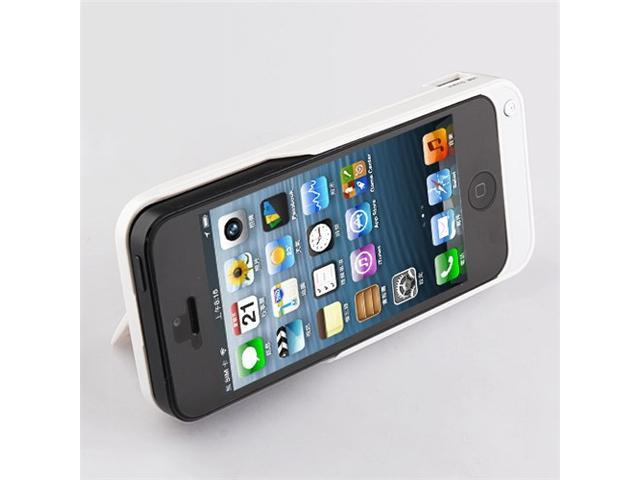 sports shoes b92da 4ad41 Kinps New Power Bank for Apple iPhone 5 External Battery (4200 mAh) Power  Pack Case / Cover (White) - Newegg.com