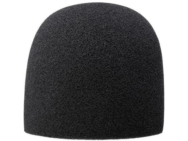 Auray Foam Windscreen for 1-3//8 Diameter Microphones Black