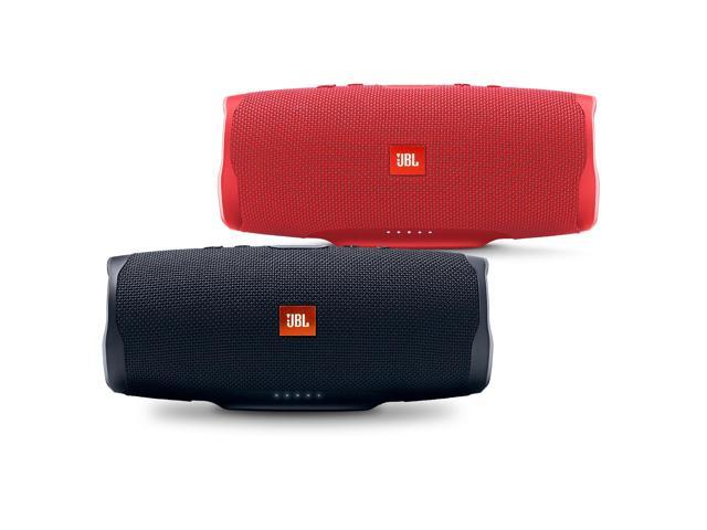 Jbl Charge 4 Black And Red Portable Bluetooth Speaker Pair Newegg Com