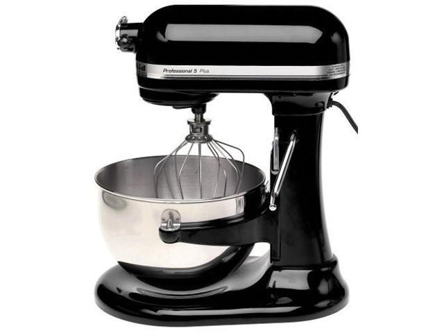 KitchenAid KV25GOXOB Professional 450 Watt 5™ Plus Series 5 Quart Bowl-Lift  Stand Mixer Onyx Black
