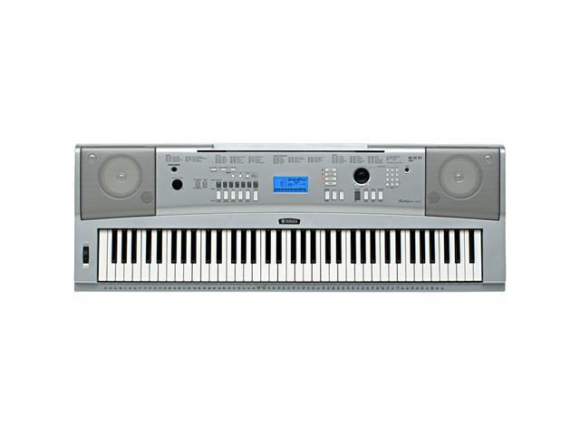 YAMAHA R-DGX-230 Keyboard digital piano Stand+Adapter 76 Full-Sized Keys  New - Newegg com