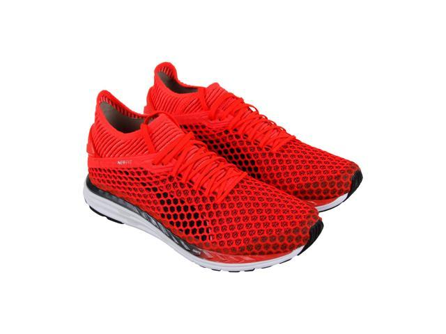 Puma Speed Ignite Netfit 2 Red Mens Athletic Running Shoes - Newegg.com 3d4fc74a3