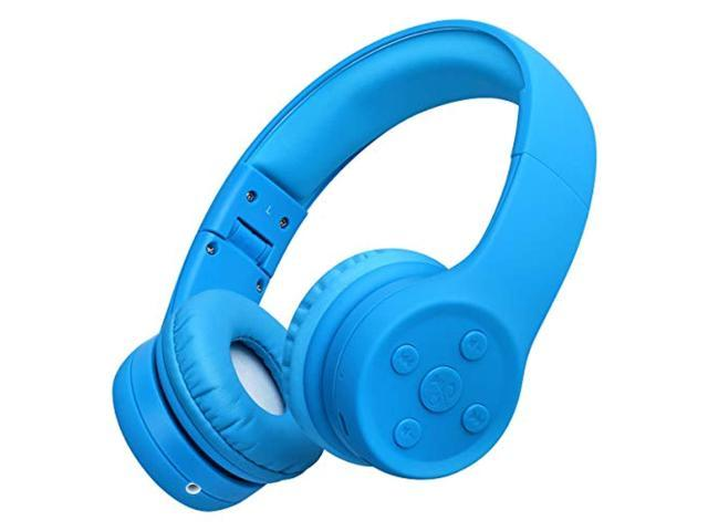 Picun Kids Bluetooth Headphones Safe Volume Limited 85db 15 Hours Play Time Foldable Stereo Sound Headsets With Mic Wireless He Newegg Com