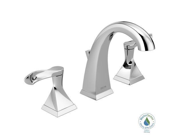 Delta Porter 8 In Widespread 2 Handle Bathroom Faucet In: Delta Everly 8 In. Widespread 2-Handle Bathroom Faucet In