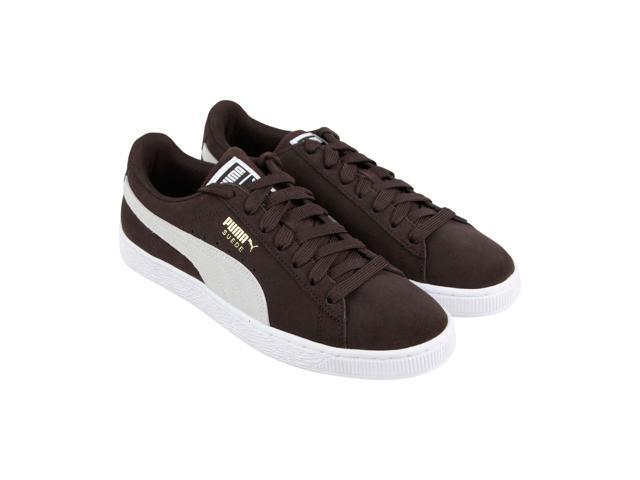 Puma Suede Classic Mens Brown Casual Lace Up Low Top Sneakers Shoes