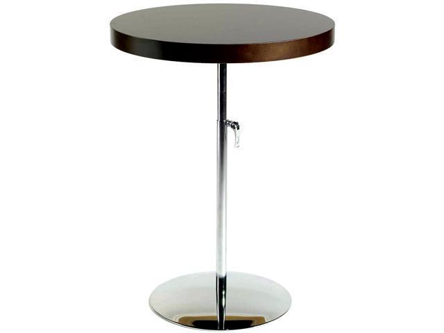 Raymond Adjustable Height Round Table W Steel Pedestal Base