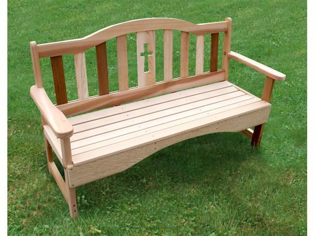 Pleasant Holy Cross Garden Bench Small Newegg Com Gamerscity Chair Design For Home Gamerscityorg