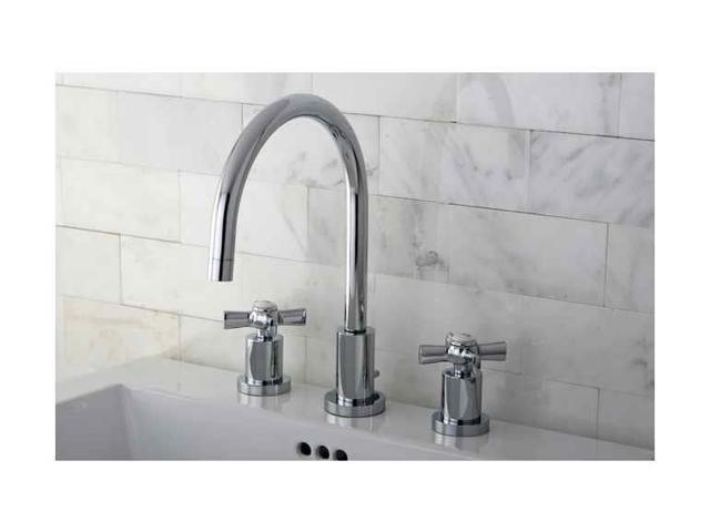 New 8 Roman Widespread Lavatory Bathroom Sink Faucet Oil: Kingston Brass KS8921ZX Millennium Widespread Lavatory