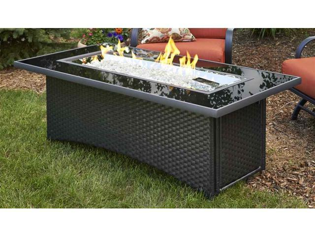 Outdoor Greatroom Mg 1242 Blsm K Montego Crystal Fire Pit Coffee Table With