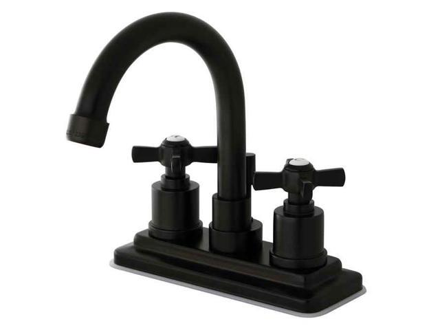 New 8 Roman Widespread Lavatory Bathroom Sink Faucet Oil: Kingston Brass KS8665ZX Kingston Brass Millennium 4 In
