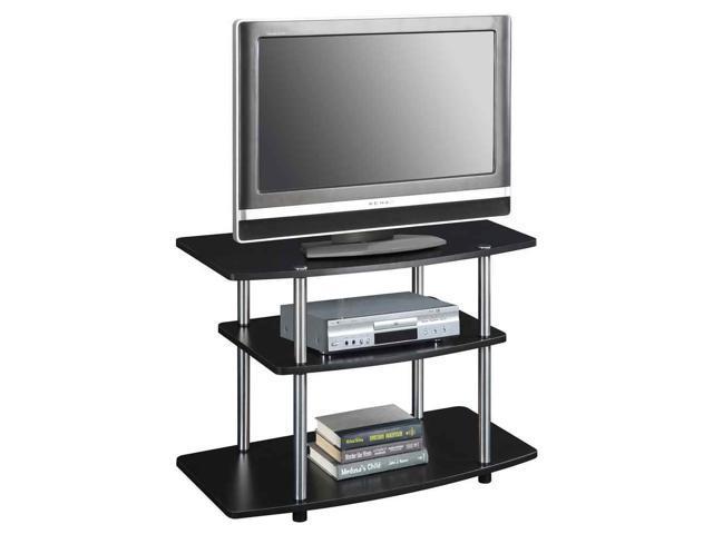 Convenience Concepts Designs2go Espresso 3 Tier Tv Stand 131020es