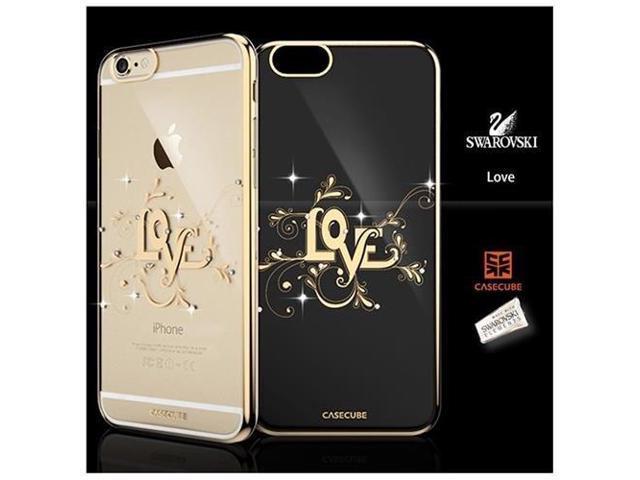 competitive price 42b74 c14e7 CASECUBE® iPhone 6/6s Plus Case [Brilliant Crome Color] SWAROVSKI PC Series  for Apple iPhone 6/6s Plus - LOVE - Newegg.com