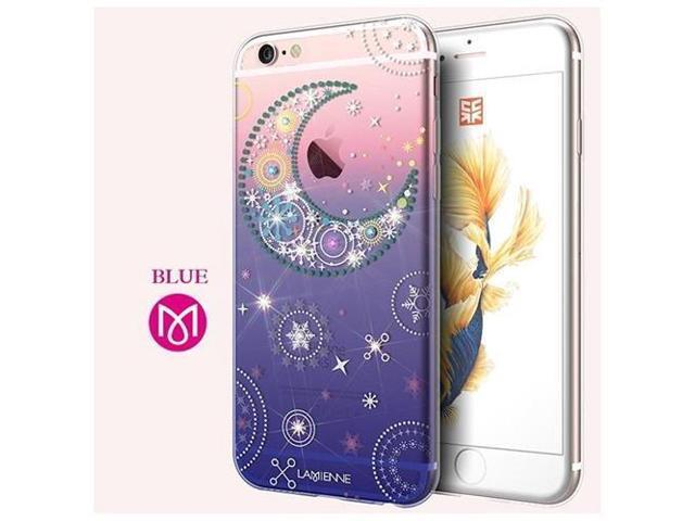 sale retailer 4ec04 03373 CASECUBE® iPhone 6/6s Plus Case [Moon And Star] SWAROVSKI TPU Series for  Apple iPhone 6/6s Plus - Clear - Newegg.com
