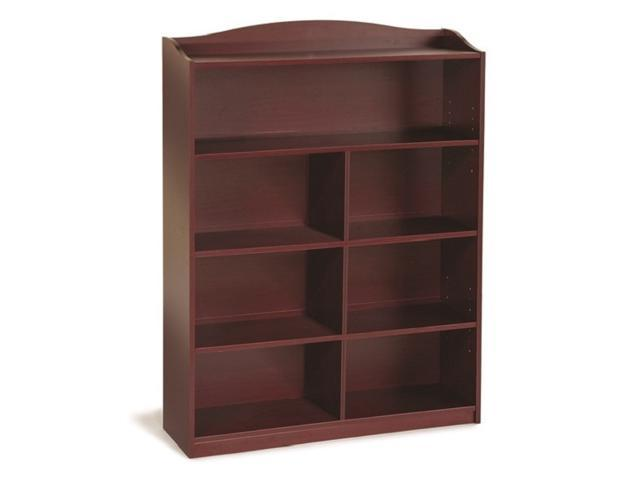Guide Craft 5 Shelf High Childrens Bookshelf