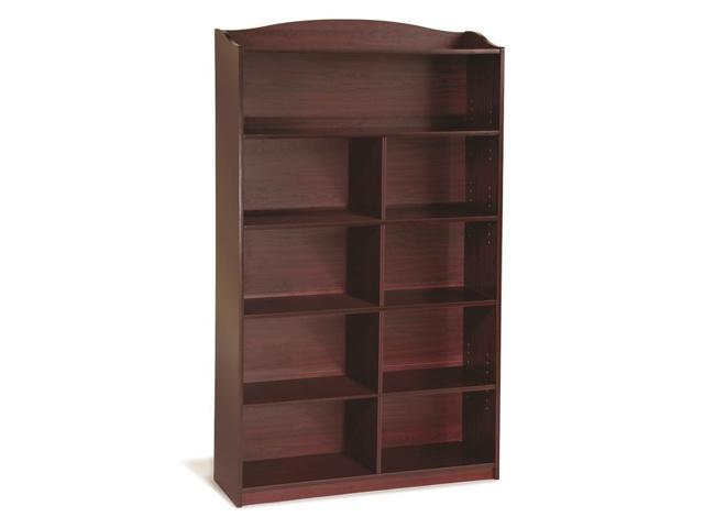 Guide Craft 6 Shelf High Childrens Bookshelf