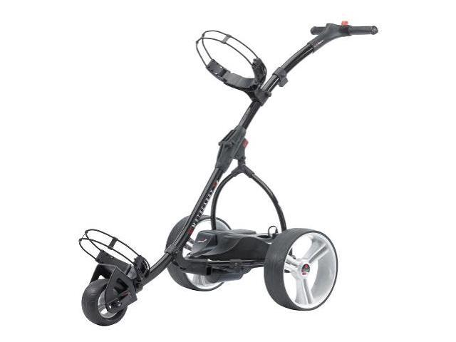 MotoCaddy BLACK S1 Digital Walking Powered Golf Cart - Newegg com