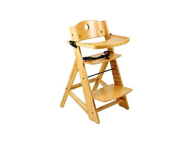 keekaroo adjustable height right wood high chair. Black Bedroom Furniture Sets. Home Design Ideas