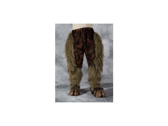 Furry Hairy Brown Beast Legs Pants Adult Costume Accessory  sc 1 st  Newegg.com & Furry Hairy Brown Beast Legs Pants Adult Costume Accessory - Newegg.com