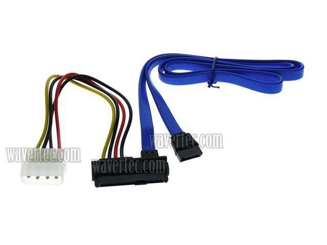 22Pin 7+15 Pin Male Plug to SATA 22Pin Female Jack Convertor M//F Adapter SAS RF