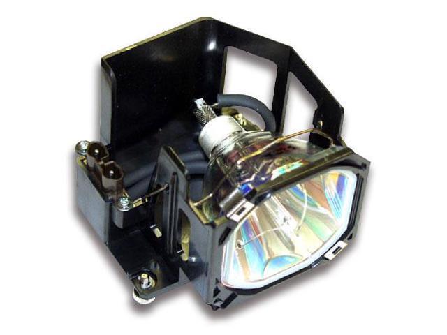 Mitsubishi WD-73740 OEM Replacement RPTV Lamp bulb Original Bulb and Generic Housing