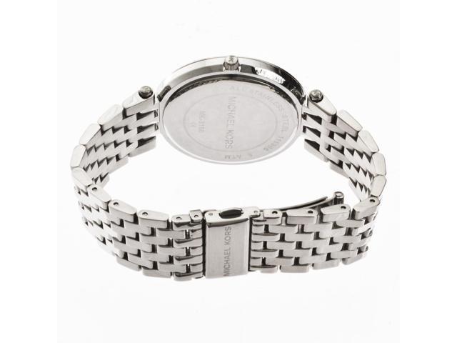 6daa4c9674c4 Michael Kors Parker Glitz Crystal Stainless Steel Womens Watch MK3190