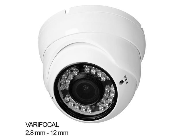 R-Tech 2MP 1080P HD TVI Dome Outdoor Night Vision IR 2.8-12mm Security Camera