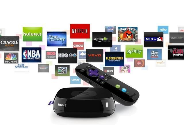 Roku ROKU3 Streaming Media Player - Newegg com