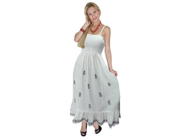 a192ace52da13 Straps Beach Wear Swimsuit Swimwear Cover Up Dress Maxi Frill Tube Stretch  LARGE