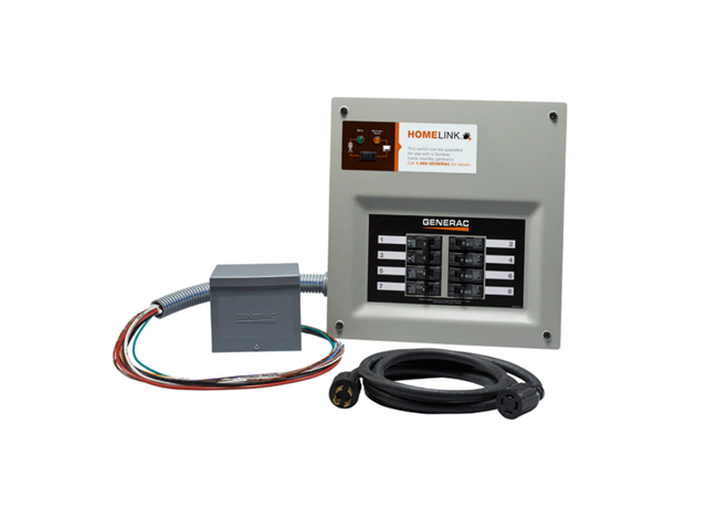 Reliance Controls 30114a 30amp 120v 4circuit Indoor Transfer Switch