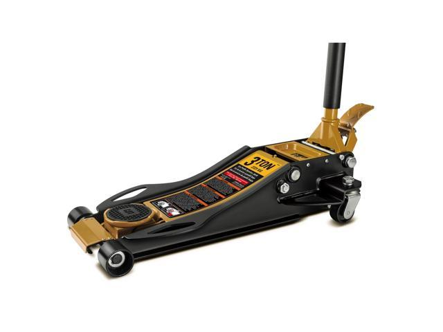 Cat 3 Ton Low Profile Fast Lift Floor Jack 3 Inch To 19 1 2 Inch