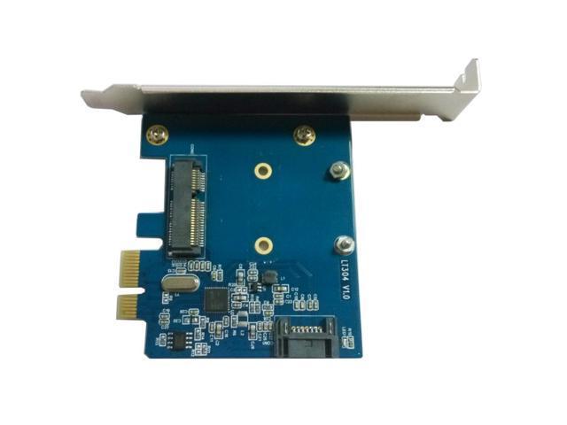 LT304 Expansion Card PCI-E SATA 3.0 MSATA High-Speed Transmission for Desktop