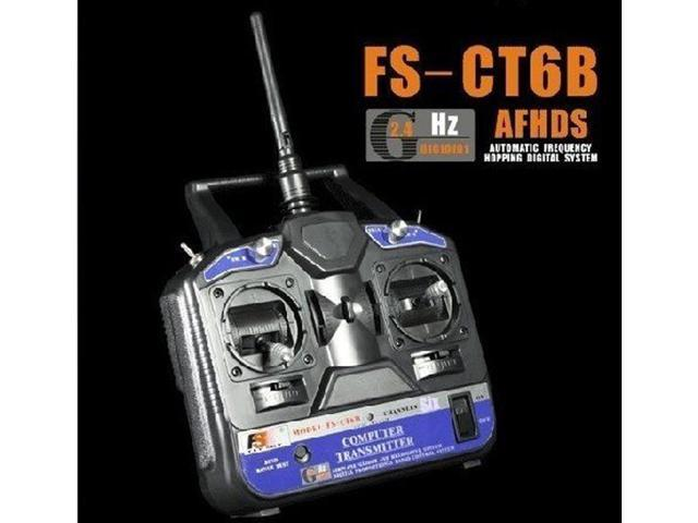 Flysky FS 6CH 2 4G FS-CT6B RC Transmitter 6 channel (No receiver) for  Airplane - Newegg com