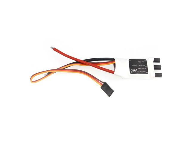 JMT 30A SimonK 2-4S Lipo 5V 3A BEC Brushless ESC Mini Speed Controller for  DIY RC Multicopter 350 380 Quadcopter - Newegg com