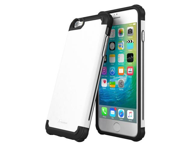 timeless design 8d072 b469c iPhone 6s Case, rooCASE Ultra Slim MIL-SPEC Exec Tough Pro Rugged Case  Cover for Apple iPhone 6 / 6s, White - Newegg.com