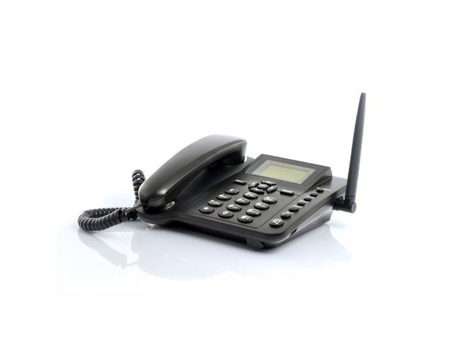 Wireless GSM Desk Phone - Desktop Style Phone with SIM Card Slot by The  Emperor of Gadgets® - Newegg com