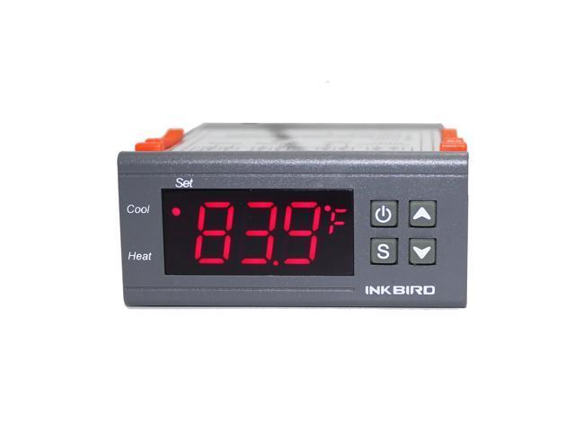 Inkbird PID Temperature Controller Fahrenheit 15A Homebrew Pump Thermostat 110V