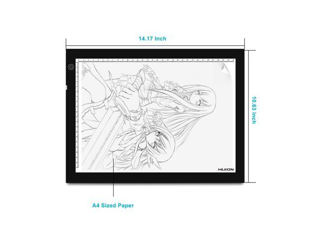 Draw tracing of panel wiring diagram of an alternator wiring huion a4 17 7 inch brightest led light tracing pad light box drawing draw tracing of panel wiring diagram of an alternator cheapraybanclubmaster Choice Image