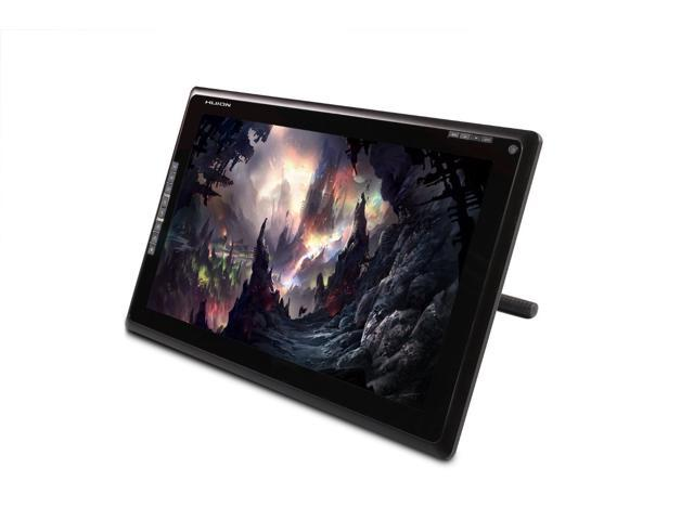 huion gt 185 graphic drawing tablet monitor with tempered glass