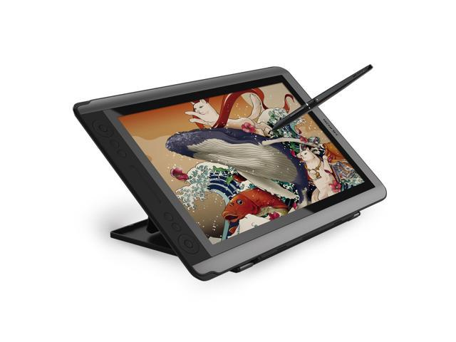 Huion Kamvas GT-156HD V2 Graphics Drawing Tablet Monitor Pen Display with  8192 Pen Pressure 14 Express Keys-Upgraded Version - Newegg com