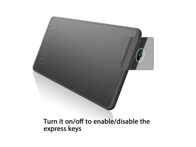 Huion INSPIROY H640P Digital Graphics Drawing Pen Tablet with Battery-Free  Pen 8192 Pressure Sensitivity and 6 Shortcut Keys - Newegg com